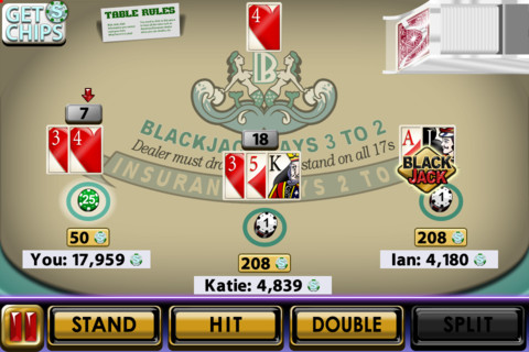 Big Win Blackjack, nuovo gioco per iPhone